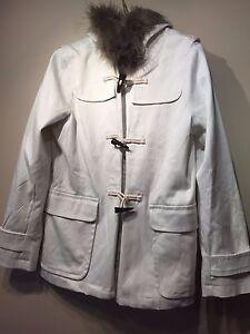 M Fur Hooded 543215 Størrelse Duffle Womens Faux Gap Nwt Coat 8RCnZZ