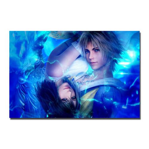 Final Fantasy X Hot Game Silk Canvas Poster 13x20 32x48/'/'