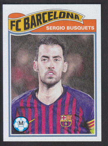 Topps Living Barcelona //614 UCL Champions League  # 13 Sergio Busquets