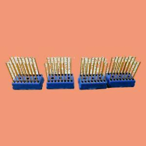 Cambion-16-Gold-Plated-Pin-IC-Integrated-Circuit-Socket-Lot-Of-4