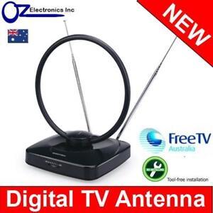 NEW-Greentek-UVR-AV185-indoor-Amplified-Antenna-Digital-HD-TV-good-4-Inner-City