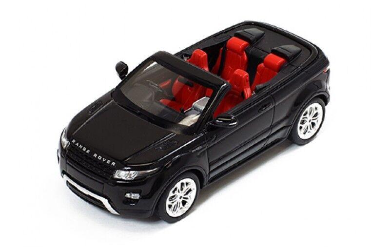 Range Rover Evoque cabriolet noir - volant à droite 2012 1 43 IXO Premium-X