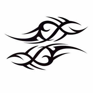 Tribal-Einmal-Tattoos-Temporary-Tattoo-Body-Sticker-Temporaere-Tattoo-19x12cm