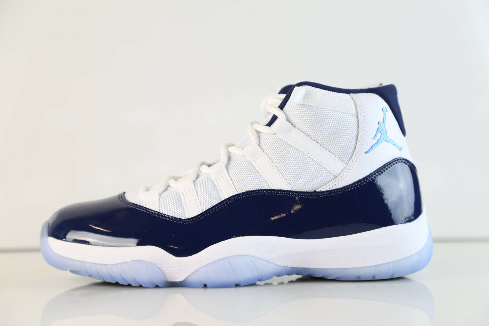 Air Jordan Navy Retro UNC Blanco Midnight Navy Jordan University Azul 378037-123 8 - 14 XI c61024