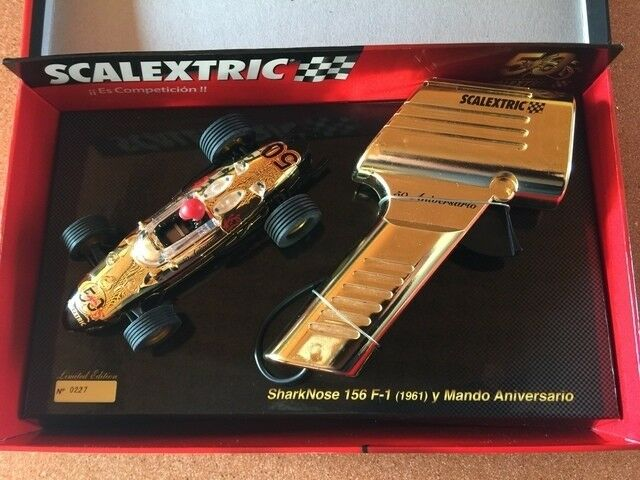 SCALEXTRIC A10108S300 SHARKNOSE 156 + MANDO series limited Tecnitoys 1 32 New