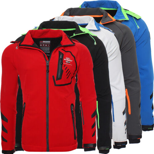 Geographical Norway señores Softshell Funktions outdoor chaqueta impermeable nuevo