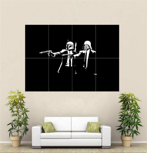 Banksy Pulp Star Wars A3 Poster