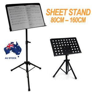 Heavy-Duty-Large-Metal-Adjustable-Music-Conductor-Folding-Music-Sheet-Stand-AU
