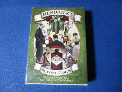 Hendricks playing Cards. Sealed Deck.