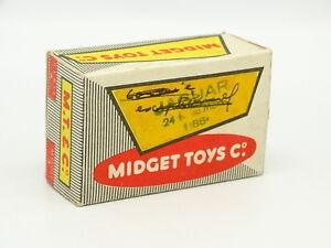 Schachtel Leere Serie Modell 3 Auto- & Verkehrsmodelle FleißIg Midget Spielzeug 1/87