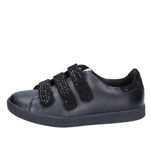 Scarpe donna LIU JO sneakers nero pelle camoscio BY639 zooode neri Pelle Descuento Grande De Venta En Línea Paquete De Cuenta Regresiva Para La Venta NLBhXH