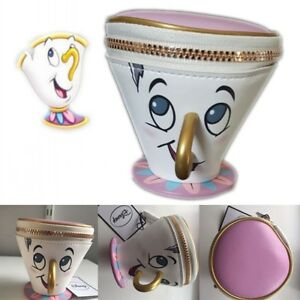 primark beauty and the beast chip coin cup purse zip. Black Bedroom Furniture Sets. Home Design Ideas