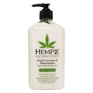 Hempz-Fresh-COCONUT-amp-WATERMELON-Moisturizer-Tanning-Lotion-17-oz