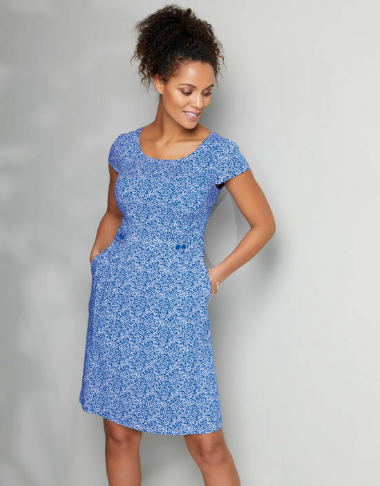 BRAVISSIMO CLOTHING TAB WAIST DRESS RRP .00 (82)