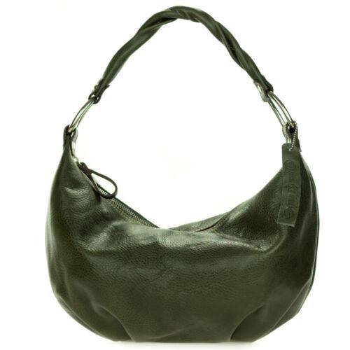 Treated Leather Di Bag Made Hobo Organically Italian Robe Firenze Khaki Green dBoeWrCxQ