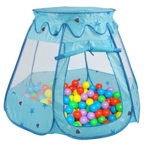 Childrens Garden PlayHouse Kids Play Tent Game House Portable Pop-Up Mesh Design