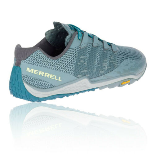 Blue Sports Merrell Mens Trail Glove 5 Running Shoes Trainers Sneakers