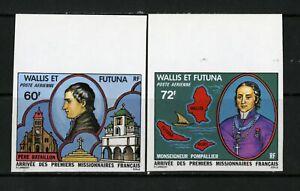 Wallis-et-Futuna-Stamps-C80-1-XF-OG-NH-Imperf