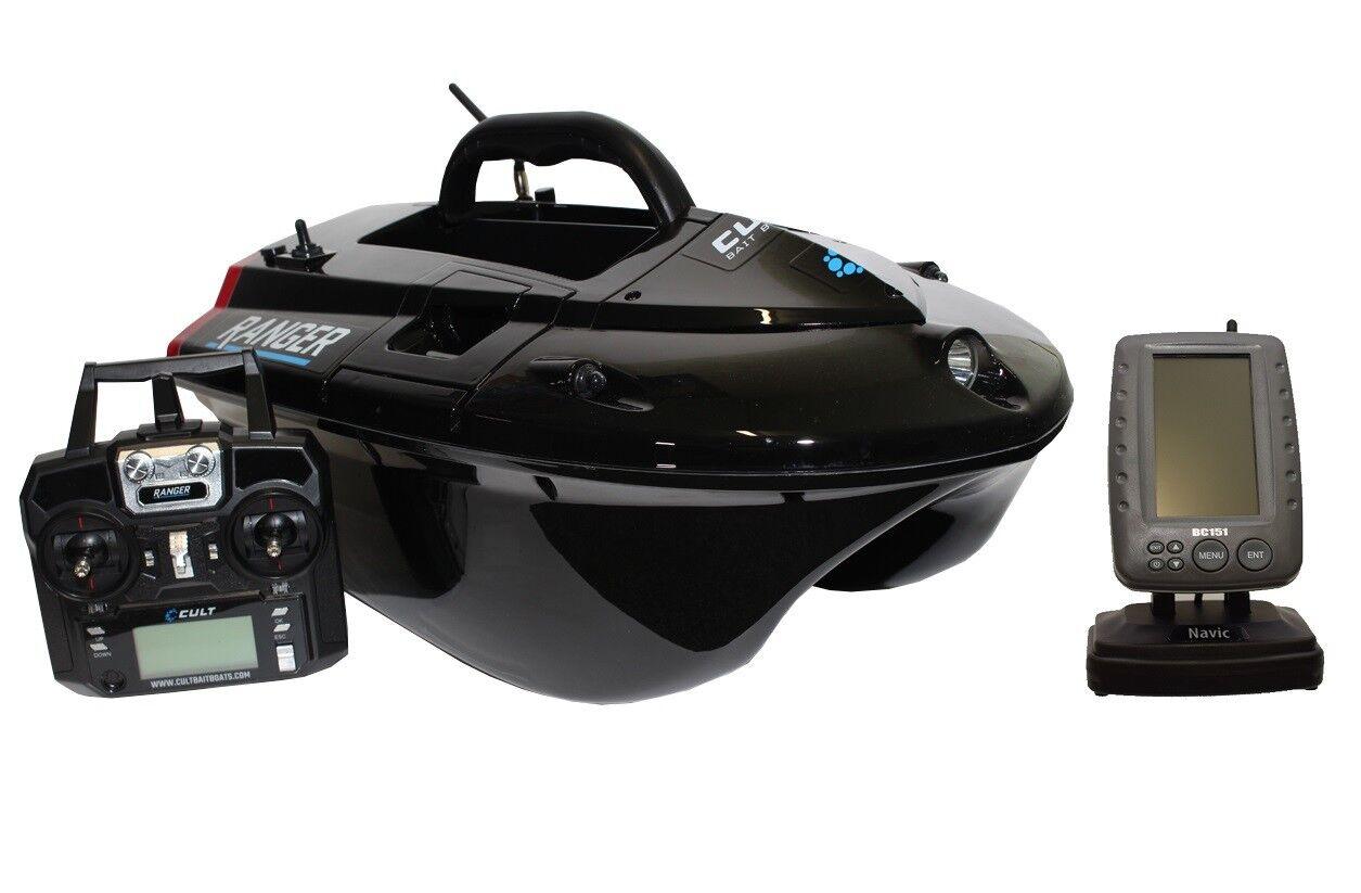CULT RANGER PRO GPS autopilota baitboat LiPo con colore FISH FINDER