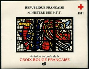 France-1981-Carnet-Croix-Rouge-N-2030-NEUF-LUXE