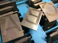 2 Reverse 4 Line Helvetica Brass New Hermes Engraving Font