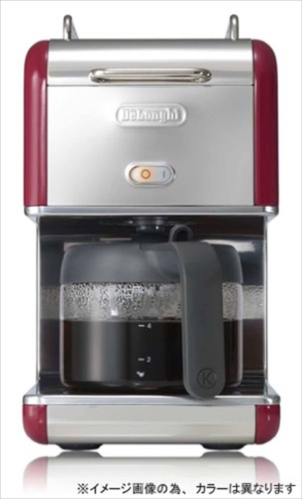 DeLonghi kMix Boutique Drip Coffee Maker 6 Cups Black CMB6-BK AC100V(50//60Hz)