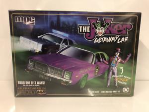 The Joker Getaway Car With Resin Joker Batman 1 24 Model Kit MPC