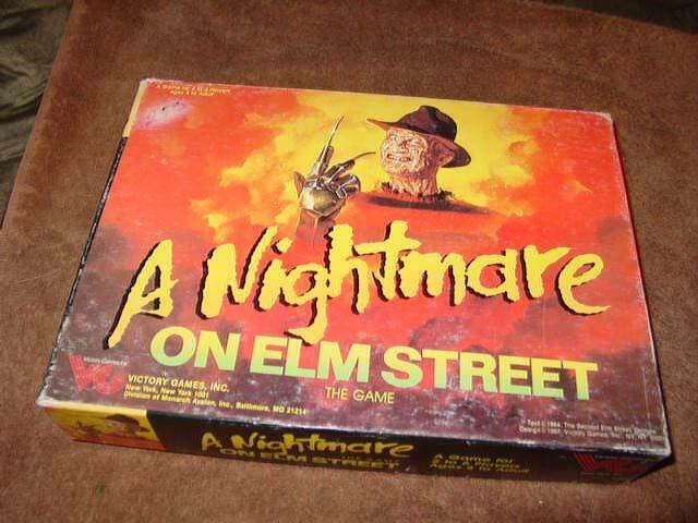 VG Victory giocos 1987 - A Nightmare on  Elm Street gioco -Movie Horror (UNPUNCHED)  comprare sconti