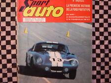 revue SPORT AUTO 1965 /MATRA BONNET DJET / ALFA ROMEO GIULIA & GTA/DAYTONA/ n°39