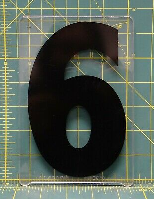 "5 7/"" x 4-1//2/"" Acrylic Wagner Zip-Change Marquee Sign Changeable Letter Number"