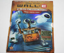Wall-E (DVD, 2008, 3-Disc Set, Special Edition) Disney Pixar w/Slipcover - NEW