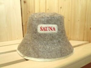 Saunahut Sauna Casquette 100/% filzmütze Sauna Capuchon Banja Schapka Feutre Casquette Chapeau A