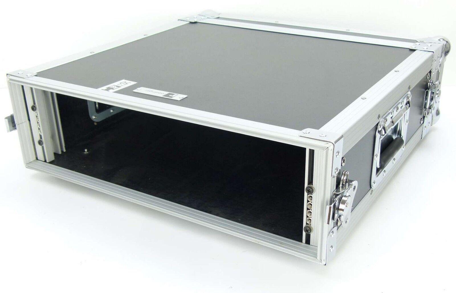 19  3 HE Verstärkerrack 47 cm tief Serverrack Endstufenrack Amprack Case Rack