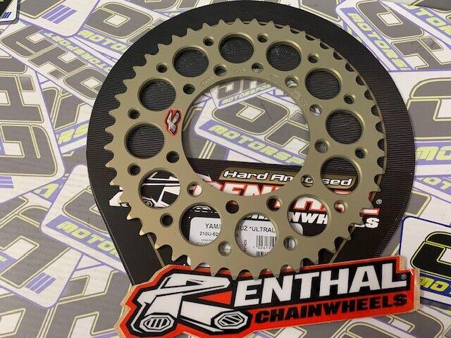 2018 Renthal Rear Sprocket 50 Tooth 210U-520-50P-HA EX400 Kawasaki Ninja 400