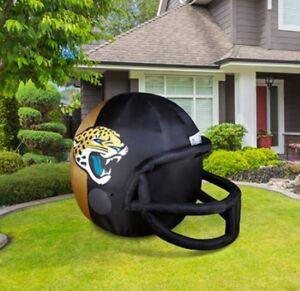 1ee11d931de Image is loading Jacksonville-Jaguars-4-ft-Inflatable-Helmet-NFL-License-