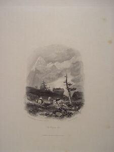 Suiza-The-Wengen-Alps-Dib-J-Duffield-Harding-1798-1863-As-Large-Of-CJ-Hul