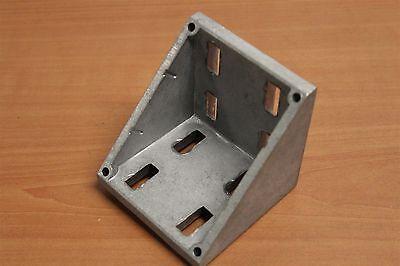 80//20 Inc T-Slot Aluminum 4 Hole Wide Inside Bracket 40 Series #40-4303 N