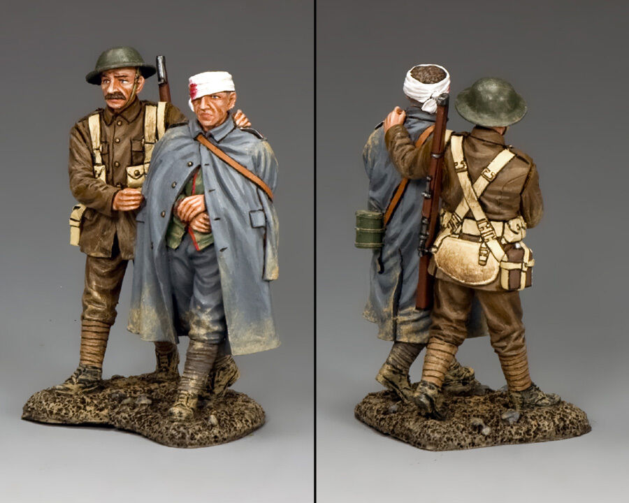 KING AND COUNTRY WW1 British - Wounded Prisoner & Escort FW166