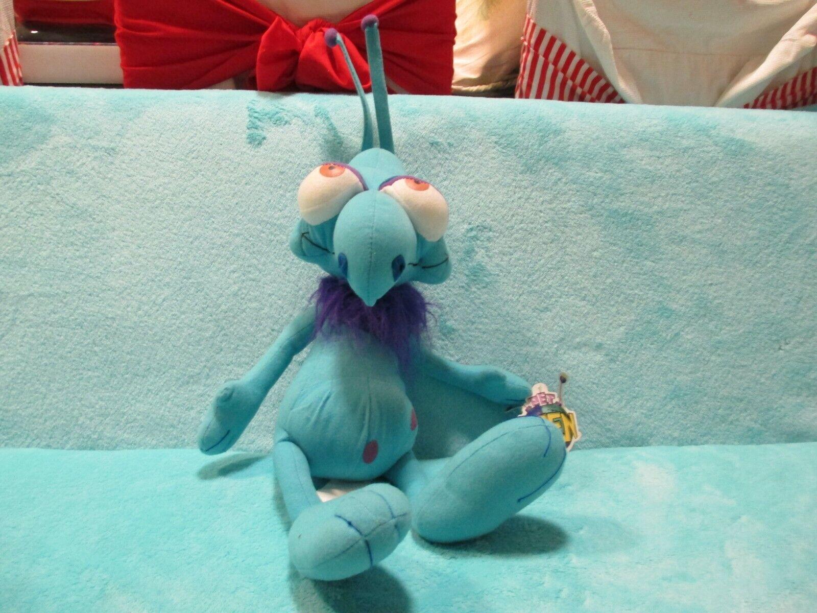 BNWT 2006 Taffy Productions PET ALIEN - SWANKY Large Soft Plush 20  Toy Network