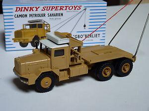 Camion-petrolier-BERLIET-GBO-saharien-ref-888-au-1-43-de-dinky-supertoys-atlas