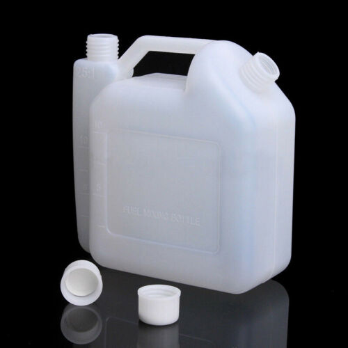 Oil Petrol Fuel Mixing Bottle Tank Container 25:1 50:1 For 2 Stroke Chainsaw Hot
