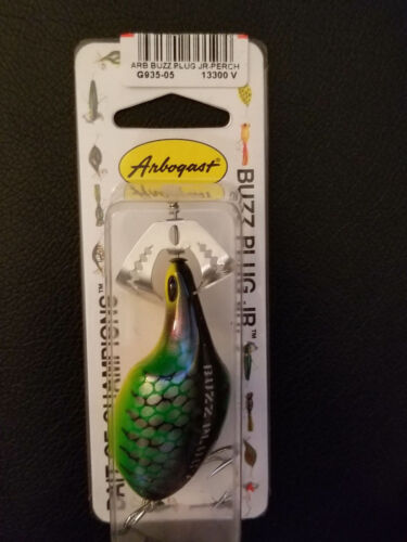 Arbogast Buzz Plug Jr G935-05 Perch