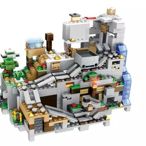 MUNDO MINECRAFT 1000 PIEZAS FIGURAS ESTILO LEGO BLOQUES DE CONSTRUCCION