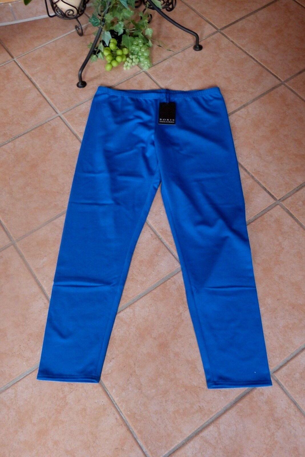 BORIS INDUSTRIES Leggings Winter 40 42 (2) NEU royal blue Double Face LAGENLOOK
