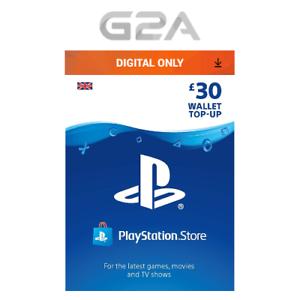 Playstation-Network-30-Card-PSN-30-GBP-UK-Store-Key-PS4-PS3-PSP-30-Pounds