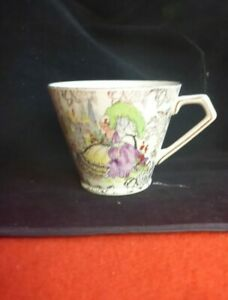 VINTAGE-LORD-NELSON-WARE-Pompadour-LADY-TEA-CUP-MADE-IN-ENGLAND