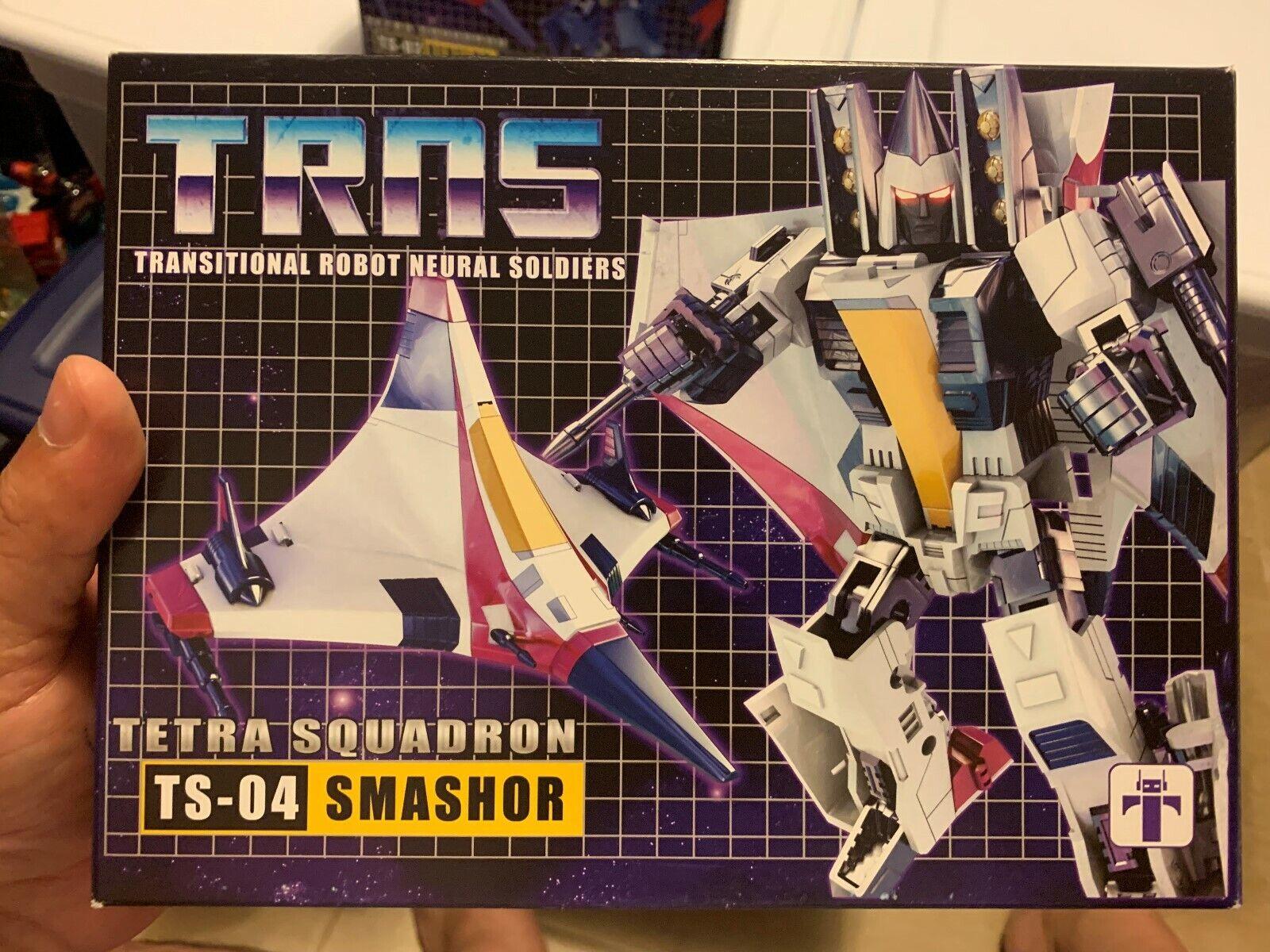 Transfomers Impossible giocattoli Tetra Squadron TS04 Smashor  Ramjet LQQK MINTY