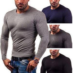 Bolf-Louis-PLEIN-6001-Jersey-hombre-chaqueta-de-punto-Sudadera-5e5-Camiseta