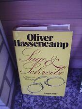 Sage & Schreibe, von Oliver Hassencamp