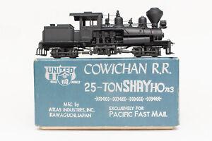 RARE-HON3-BRASS-PFM-UNITED-COWICHAN-RR-25-TON-SHAY-SUPER-DETAIL-ATLAS-JAPAN